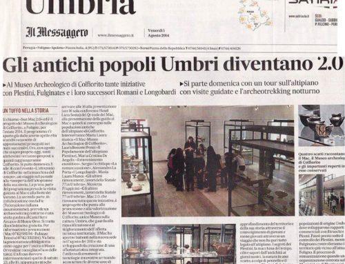 1/8/14 – La Nazione Umbria: Gli Antichi popoli Umbri diventano 2.0