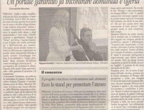 18/2/2010 – Corriere dell'Umbria: Cercalloggio Facile Etico