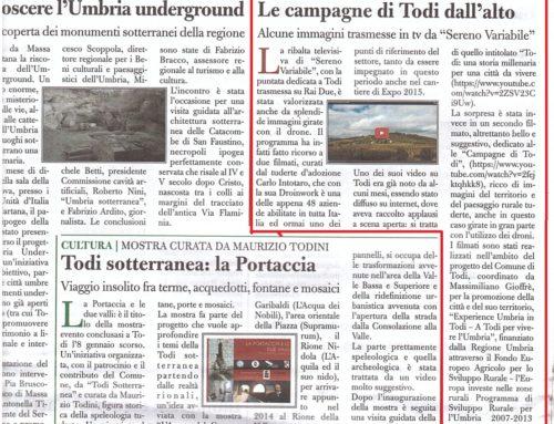 01/2015 – Il Tam Tam: Le Campagne di Todi dall'Alto – Sereno Variabile Rai 2