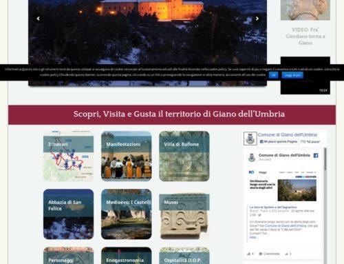 Portale turistico Comune di Giano dell'Umbria